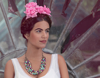 Frida Kahlo. Producción fotográfica de accesorios.