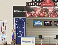 BBVA & Houston Rockets Stand