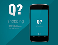 Q shopping - App design
