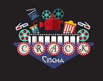 Crack Cinema Illustration