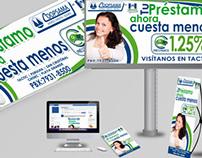 Diseño para campaña publicitaria
