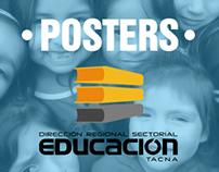Posters/Afiches - PELA (Zona de Educación Tacna-Perú)