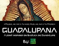 Guadalupana font