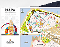 Map of cartagena