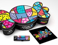 Butter Toffees + Romero Britto