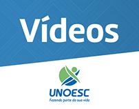 Vídeos | Unoesc