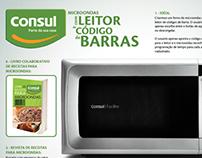 CONSUL - Microondas com Leitor de Código de Barras