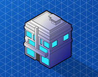 Videogame: Isometric Buildings (Assets)