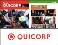 QUICORP - Diseño Editorial