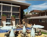 ArchViz :: Hotel de Playa