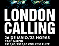 London Calling Posters
