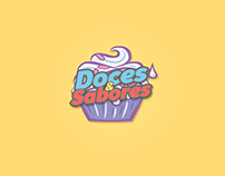 Logo Doces & Sabores