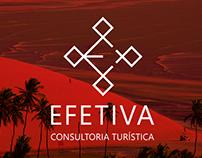 Identidade visual Efetiva consultoria turística