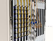 Modelagen 3D de equipamento de fibra òtica