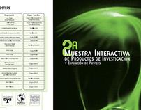 2a Muestra Interactiva de Productos de Investigación