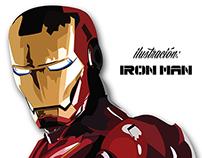 Ilustración Iron Man