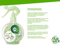 Redesign - Embalagem Air Wick Aqua Mist