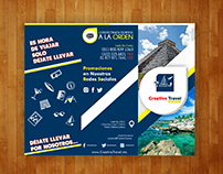 Flyers, Tripticos, Folletos