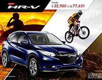 Anuncios de Honda para Facebook