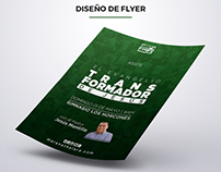 Diseño de Flyer para El Evangelio Cambia
