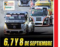 Cartaz Fórmula Truck Córdoba - ARG