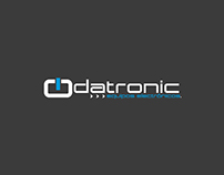 Propuesta Logo • DATRONIC equipos electrónicos