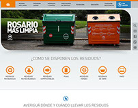 Municipalidad de Rosario | Rosario Más Limpia