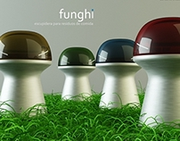 ID - Funghi - Spittoon for snack food waste