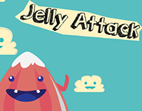 Mobile Game Jelly Attack