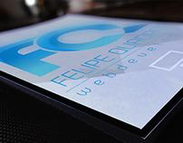 Branding Felipe Quadros WebDeveloper