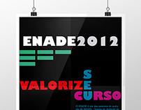 Cartaz Tipográfico - ENADE 2012