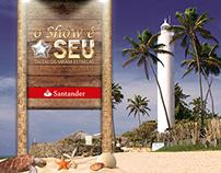 O Show é Seu | Santander