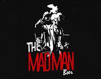 The Mad Man Beer - Rotulo de Cerveja