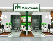Projeto 3D freelance - Estande/stand MEC-TRONIC