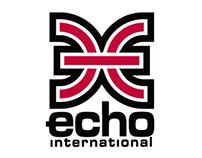 Redesign da marca Echo International