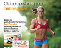 Anúncio Clube de Vantagens