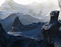 Zbrush Landscape