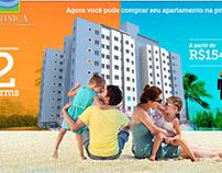 Hotsite empreendimento imobiliário