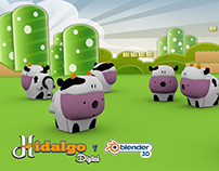 dairy farm sharpener / granja de vacas sacapuntas