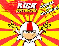"Kick Buttowski ""Heroes VS Villano"""