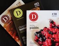 """Revista gourmet """"Dulce ingrediente"""""""