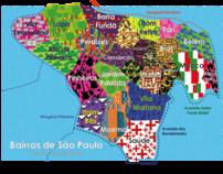 Infografico - Bairros de São Paulo