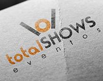 Logotipo Total Shows Eventos