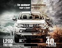 L200 Triton advertising for facebook page