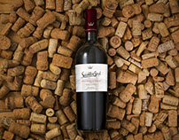Diseño de etiqueta de vino