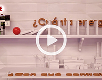 Video of goldberg machine