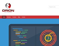Projeto Website Orion Software
