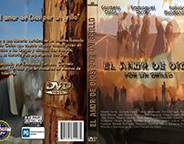 Caratula DVD sencilla y minimalista para producción.