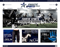 loja ecommerce produtos esportivos, football americano