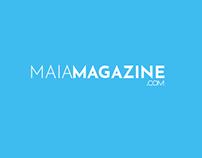 Logo for Maia Magazine